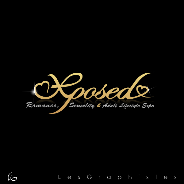 Logo Design by Les-Graphistes - Entry No. 80 in the Logo Design Contest Xposed Romance, Sexuality & Adult Lifestyle Expo.