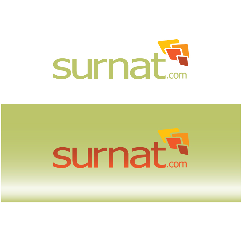 Logo Design by Number-Eight-Design - Entry No. 105 in the Logo Design Contest Surnat.com.