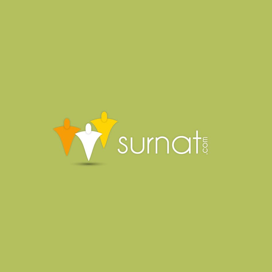 Logo Design by moonflower - Entry No. 134 in the Logo Design Contest Surnat.com.
