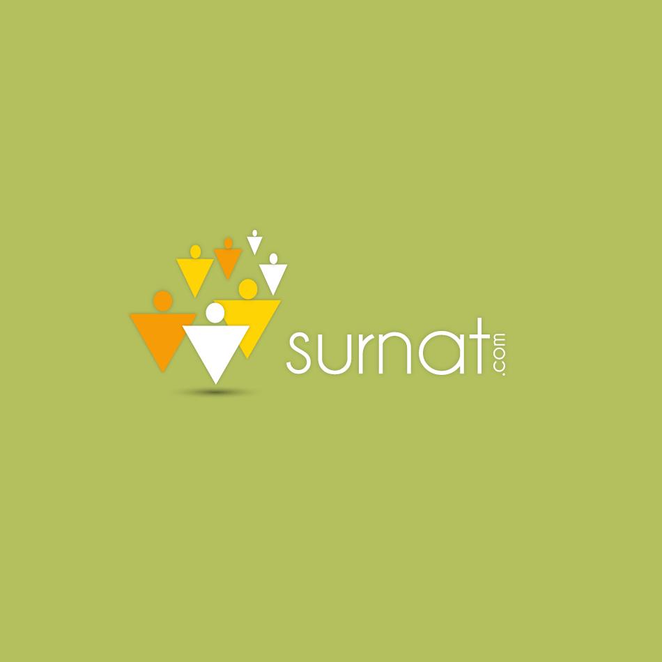 Logo Design by moonflower - Entry No. 135 in the Logo Design Contest Surnat.com.