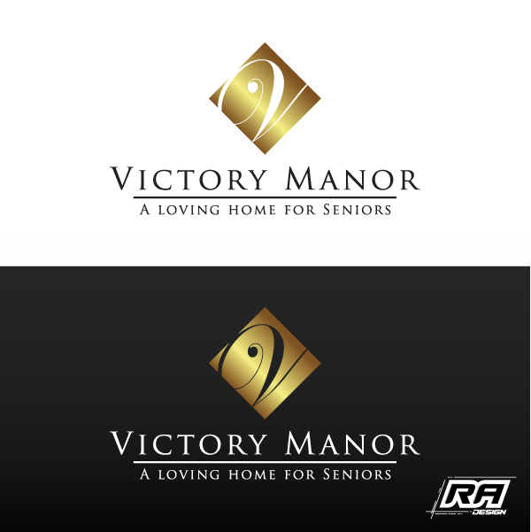 Logo Design by RA-Design - Entry No. 42 in the Logo Design Contest Victory Manor.