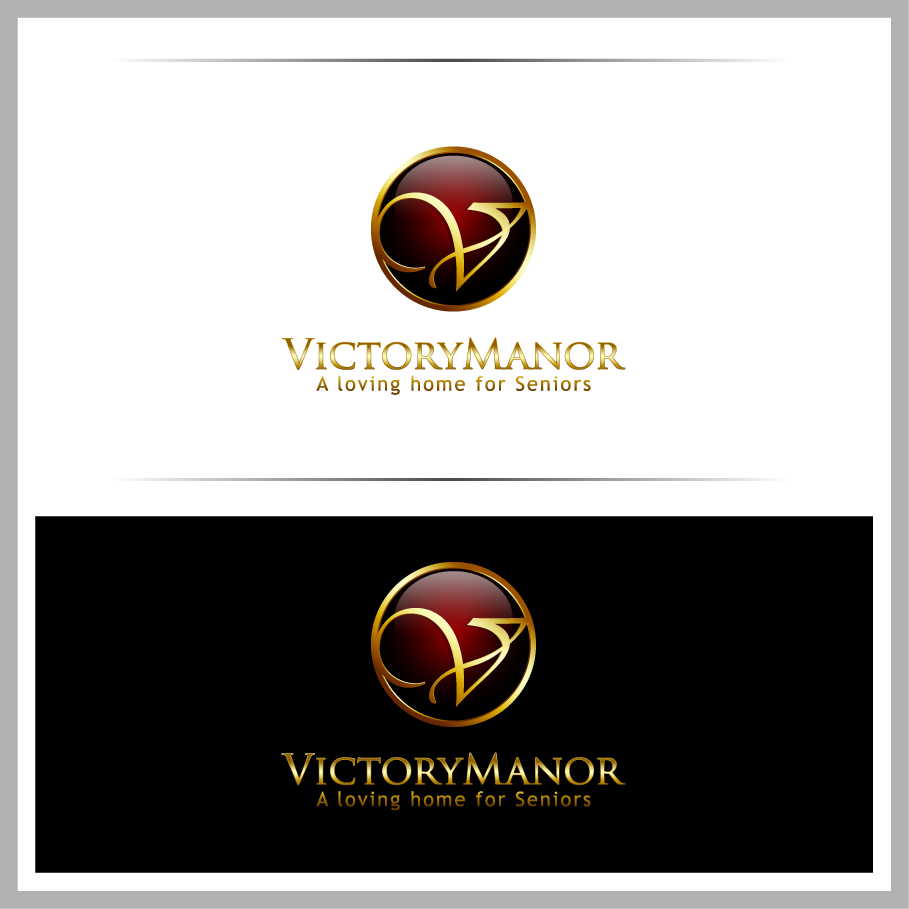 Logo Design by Mumung - Entry No. 44 in the Logo Design Contest Victory Manor.