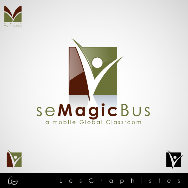 Logo Design by Les-Graphistes - Entry No. 42 in the Logo Design Contest seMagicBus.