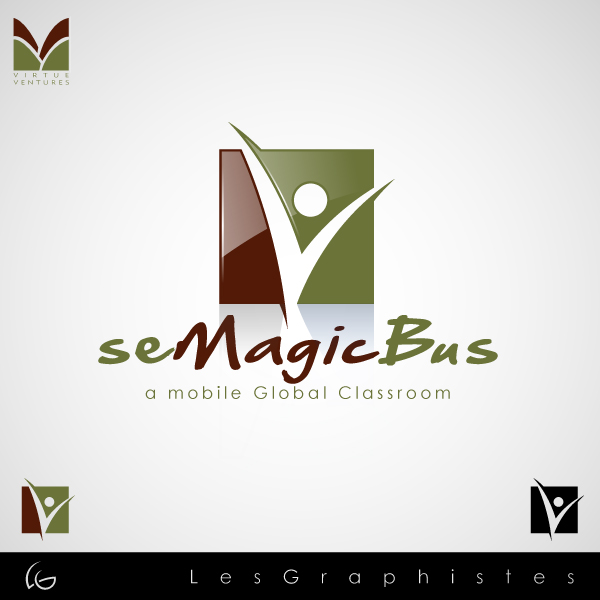 Logo Design by Les-Graphistes - Entry No. 43 in the Logo Design Contest seMagicBus.