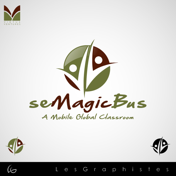 Logo Design by Les-Graphistes - Entry No. 44 in the Logo Design Contest seMagicBus.