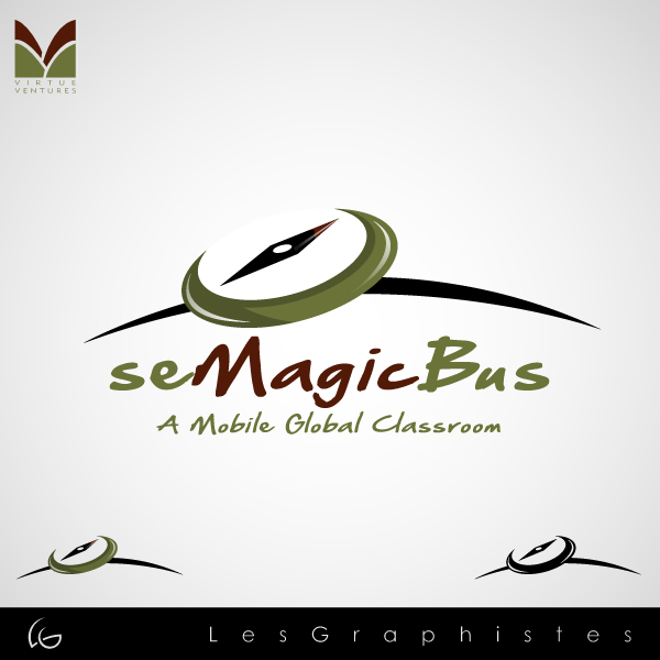 Logo Design by Les-Graphistes - Entry No. 45 in the Logo Design Contest seMagicBus.