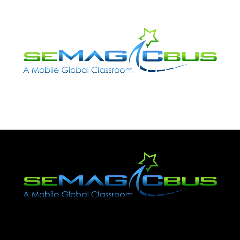 Logo Design by zams - Entry No. 52 in the Logo Design Contest seMagicBus.