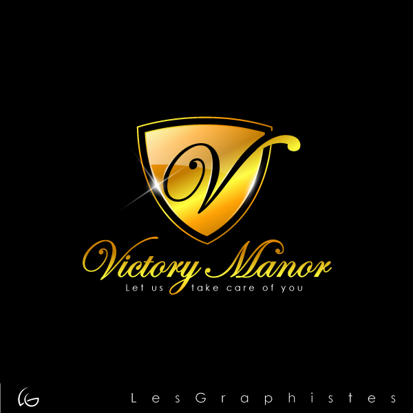 Logo Design by Les-Graphistes - Entry No. 48 in the Logo Design Contest Victory Manor.