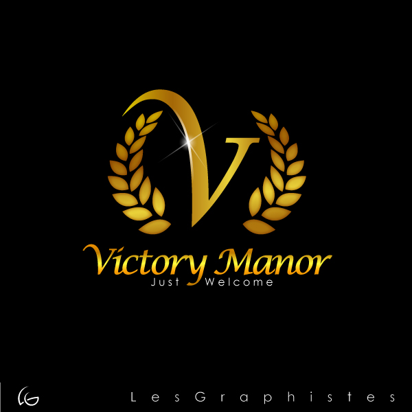 Logo Design by Les-Graphistes - Entry No. 49 in the Logo Design Contest Victory Manor.