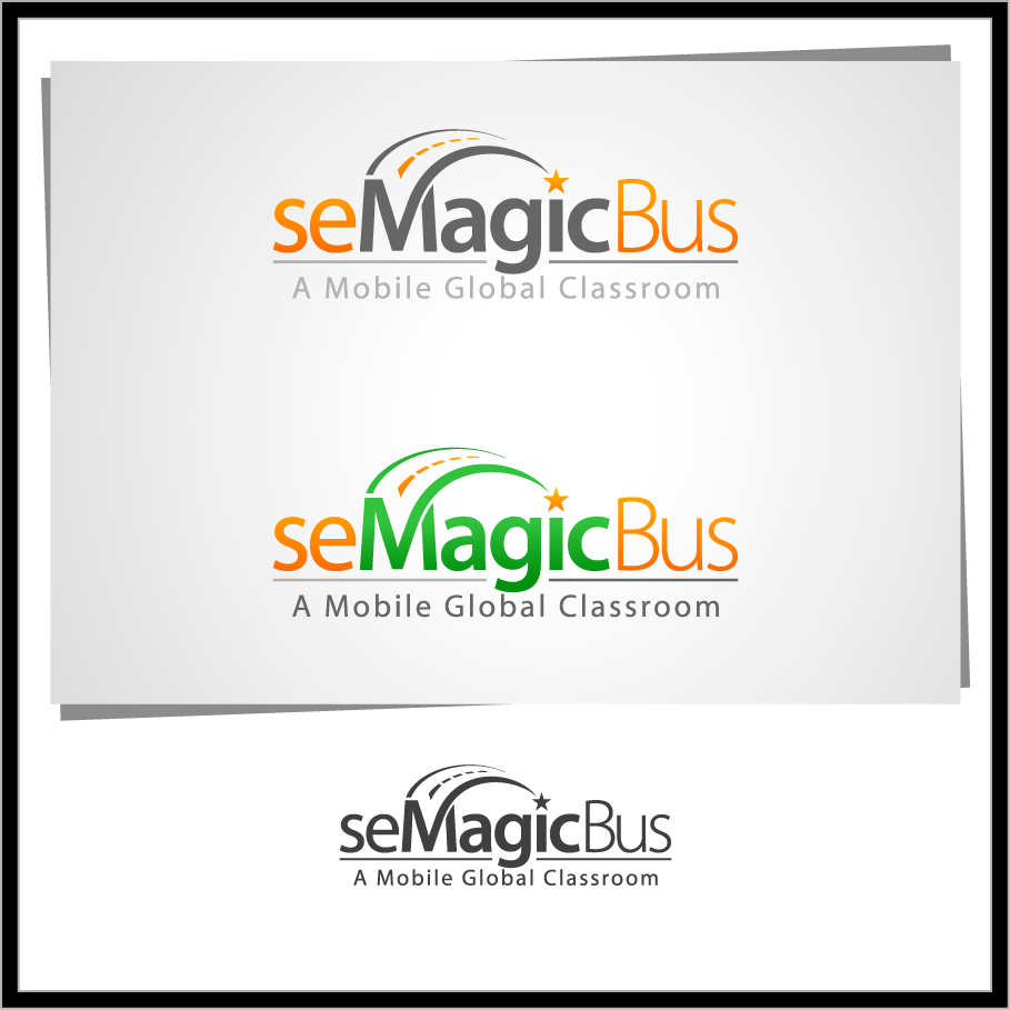 Logo Design by Mumung - Entry No. 56 in the Logo Design Contest seMagicBus.