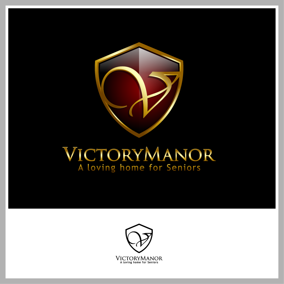 Logo Design by Mumung - Entry No. 58 in the Logo Design Contest Victory Manor.