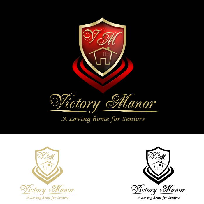 Logo Design by funnybone - Entry No. 68 in the Logo Design Contest Victory Manor.