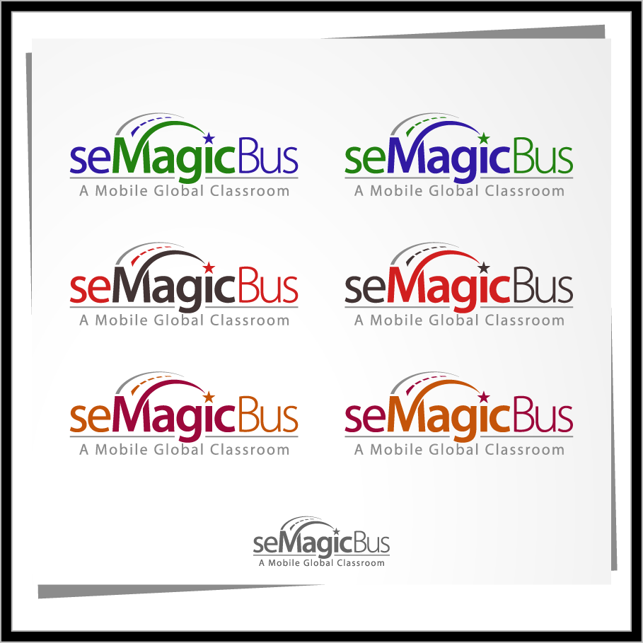 Logo Design by Mumung - Entry No. 66 in the Logo Design Contest seMagicBus.