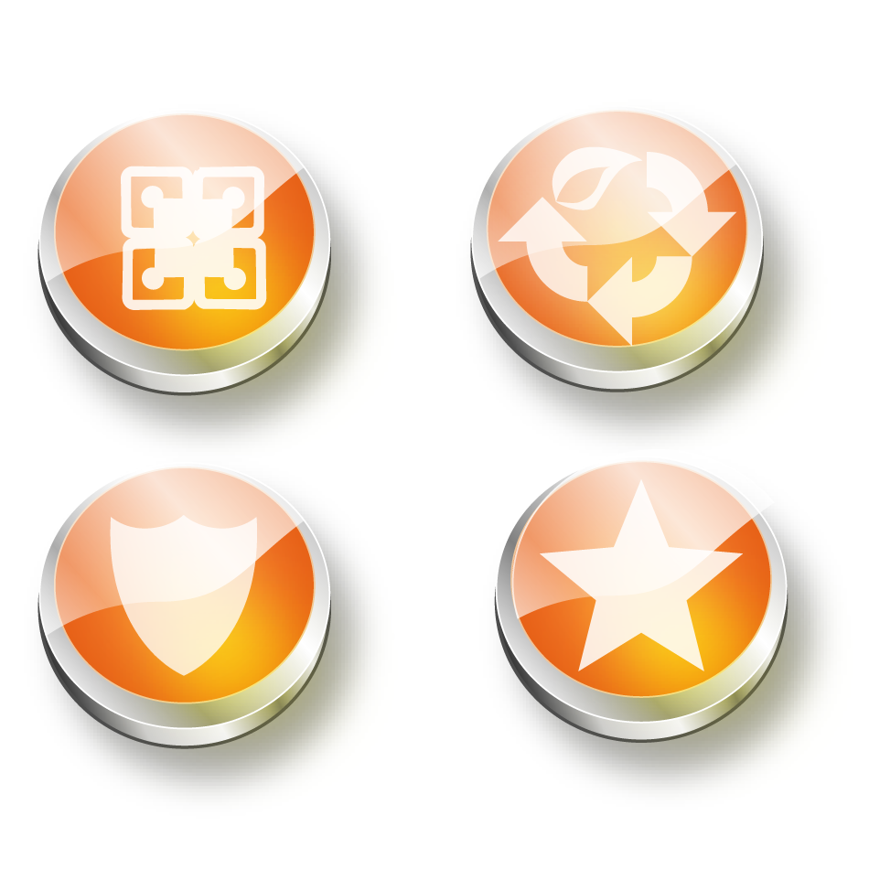 Button & Icon Design by keekee360 - Entry No. 30 in the Button & Icon Design Contest Set of 4 Values Icons.