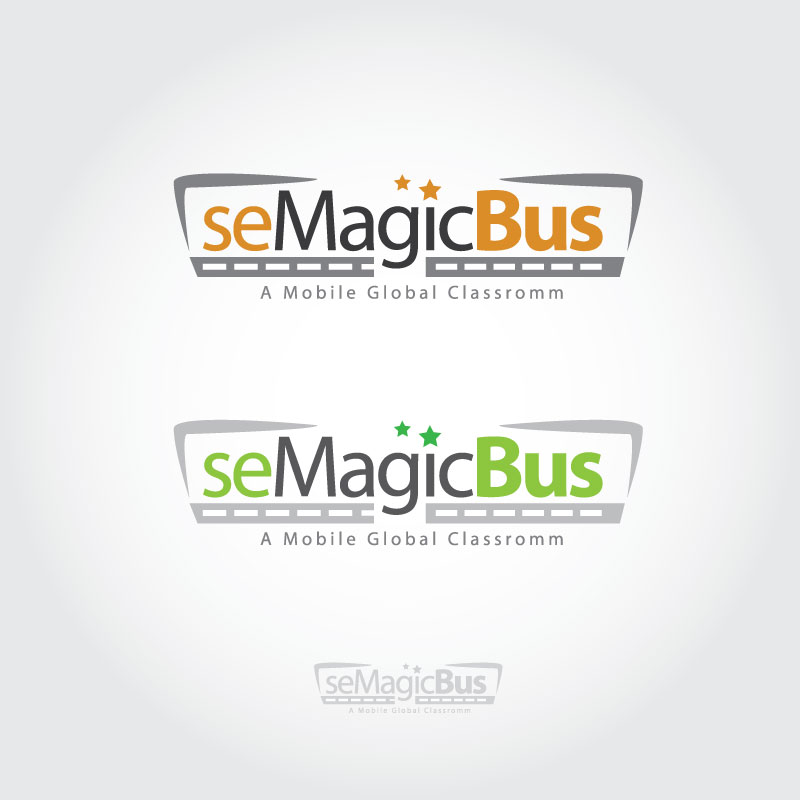 Logo Design by logoziner - Entry No. 79 in the Logo Design Contest seMagicBus.