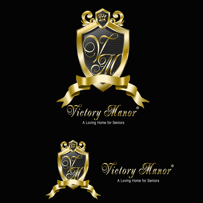 Logo Design by funnybone - Entry No. 75 in the Logo Design Contest Victory Manor.