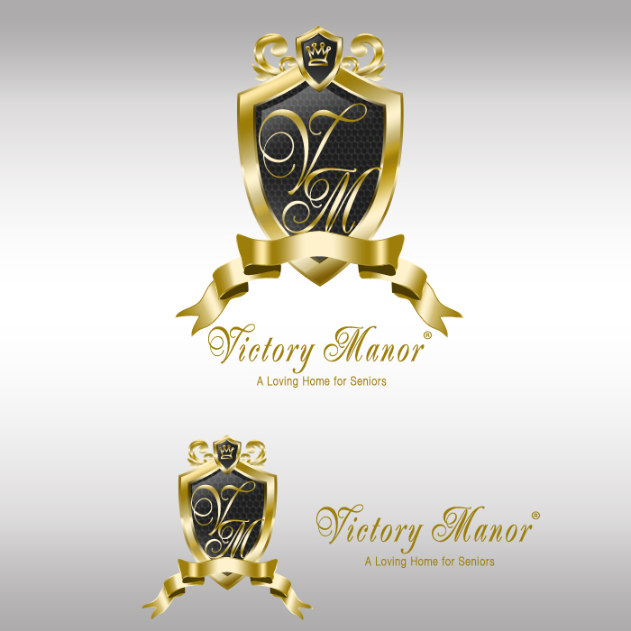 Logo Design by funnybone - Entry No. 76 in the Logo Design Contest Victory Manor.