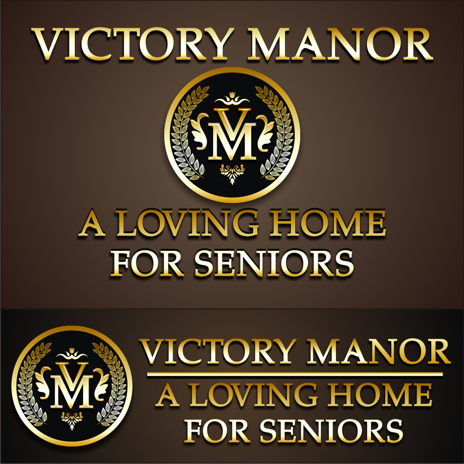 Logo Design by vector.five - Entry No. 113 in the Logo Design Contest Victory Manor.