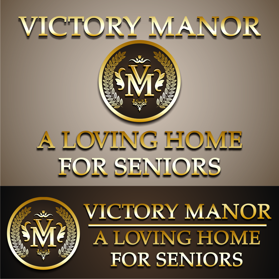 Logo Design by vector.five - Entry No. 115 in the Logo Design Contest Victory Manor.