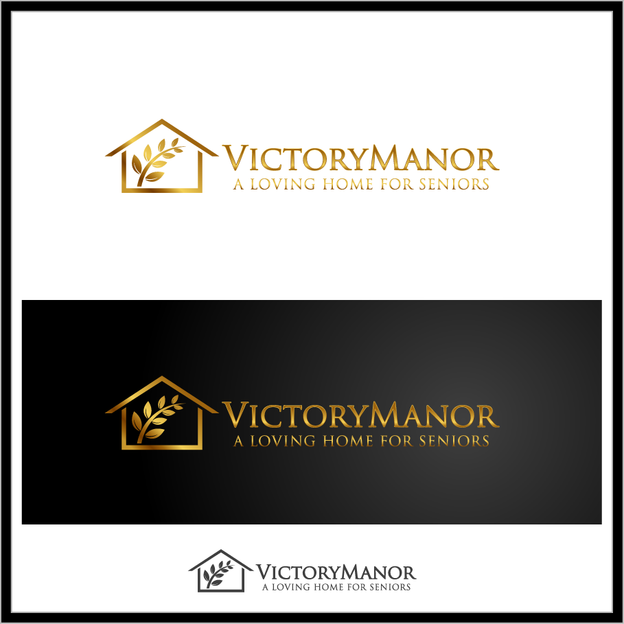 Logo Design by Mumung - Entry No. 128 in the Logo Design Contest Victory Manor.