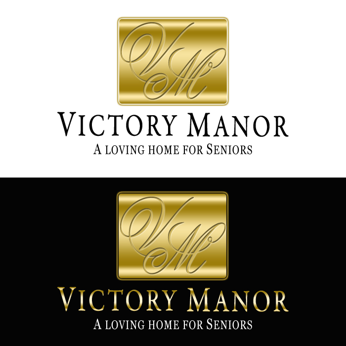 Logo Design by funnybone - Entry No. 132 in the Logo Design Contest Victory Manor.