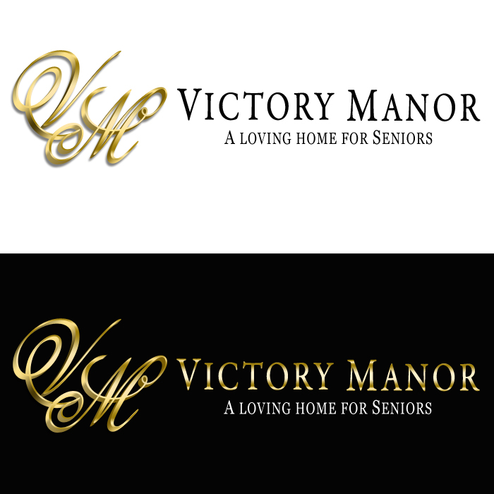 Logo Design by funnybone - Entry No. 136 in the Logo Design Contest Victory Manor.