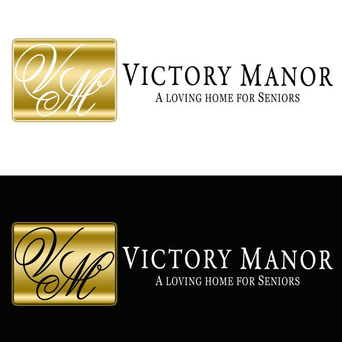 Logo Design by funnybone - Entry No. 138 in the Logo Design Contest Victory Manor.