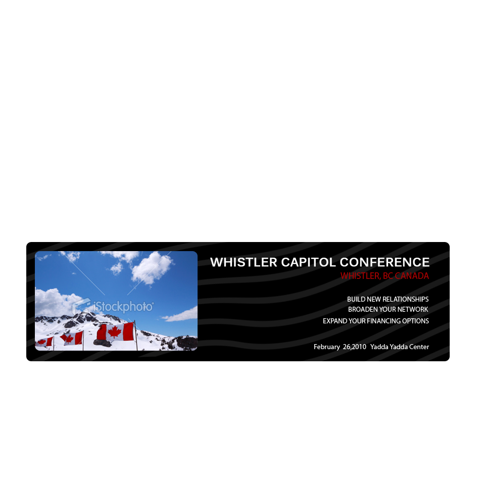 Logo Design by keekee360 - Entry No. 3 in the Logo Design Contest Whistler Capital Conference.