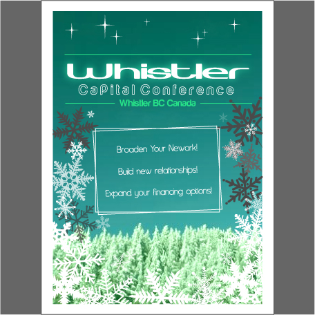 Logo Design by trav - Entry No. 8 in the Logo Design Contest Whistler Capital Conference.