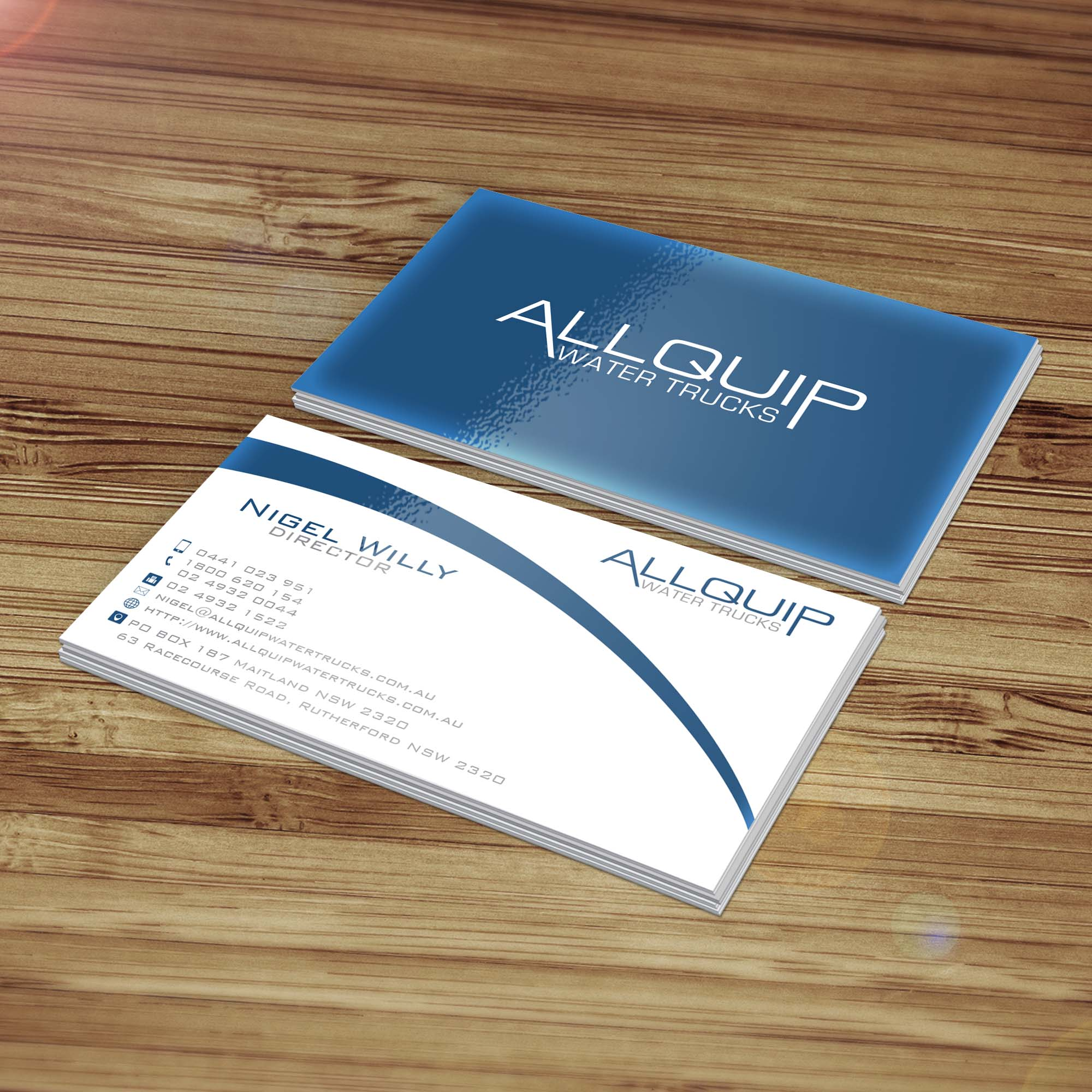 Business Card Design Contests » New Business Card Design for Allquip ...