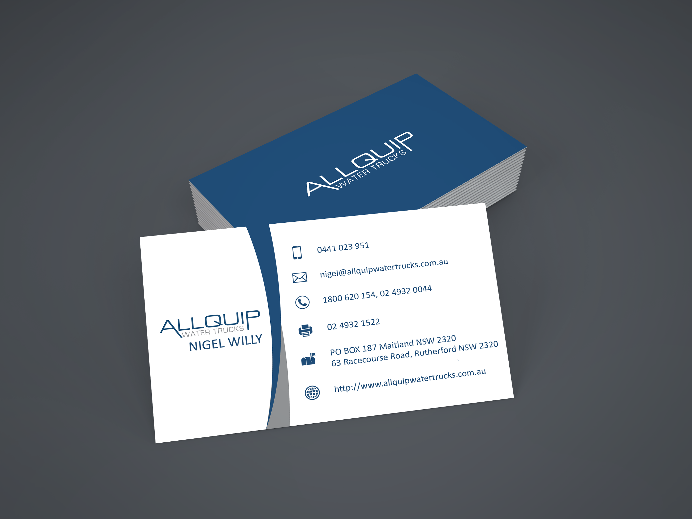 Business card design contests new business card design for allquip business card design by private user entry no 14 in the business card design reheart Choice Image