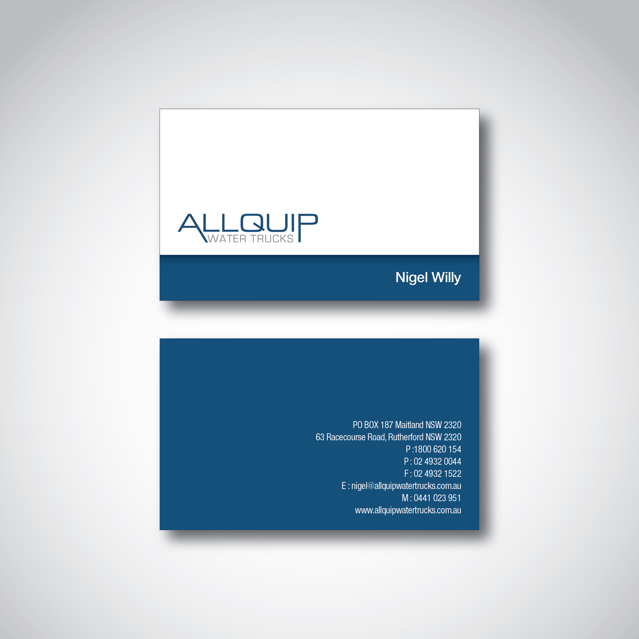 Business Card Design Contests New Business Card Design For Allquip