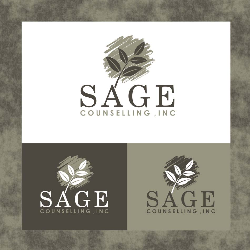 Logo Design by Heru budi Santoso - Entry No. 259 in the Logo Design Contest Sage Counselling Inc..