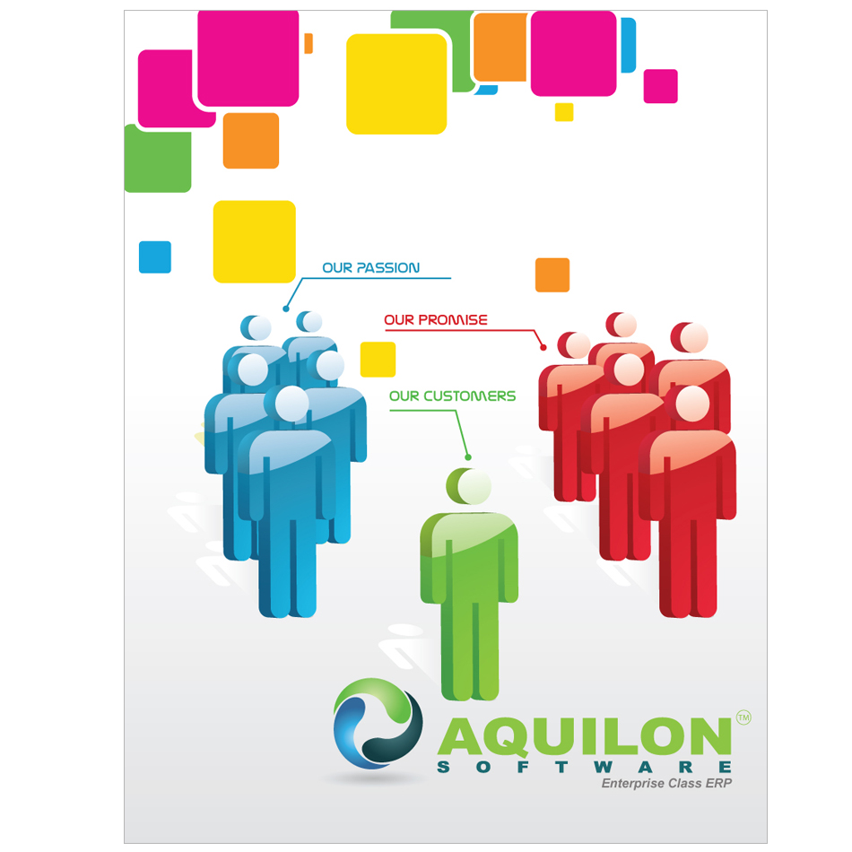 Print Design by aesthetic-art - Entry No. 9 in the Print Design Contest Aquilon Software brochure.