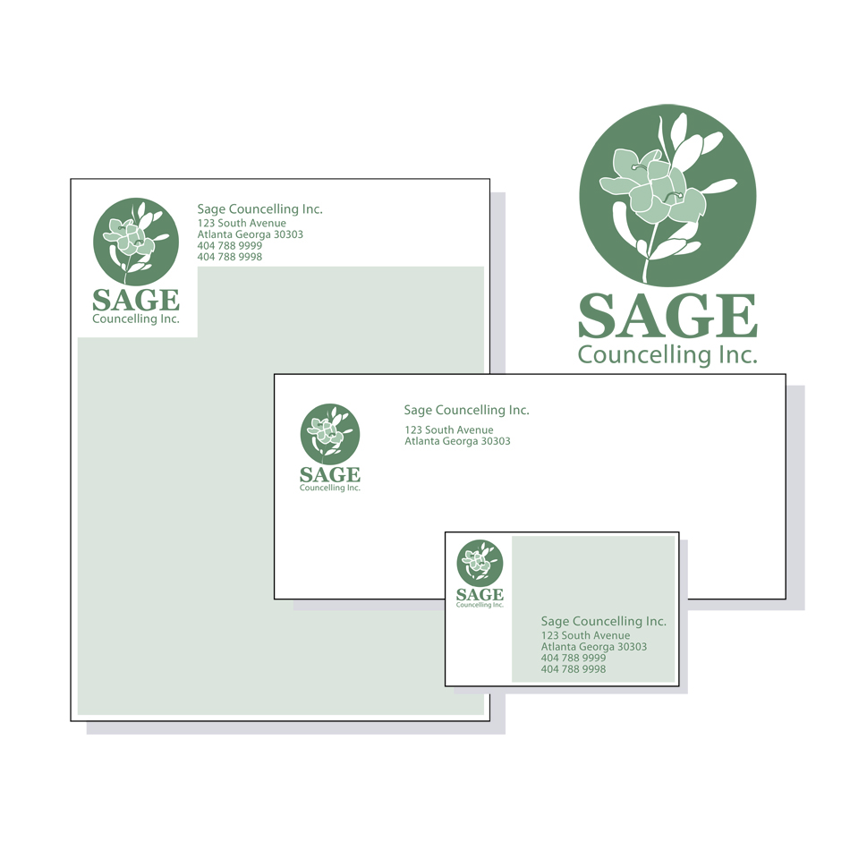 Logo Design by Mad_design - Entry No. 267 in the Logo Design Contest Sage Counselling Inc..
