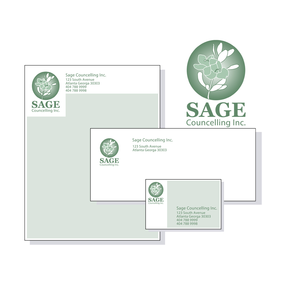 Logo Design by Mad_design - Entry No. 268 in the Logo Design Contest Sage Counselling Inc..