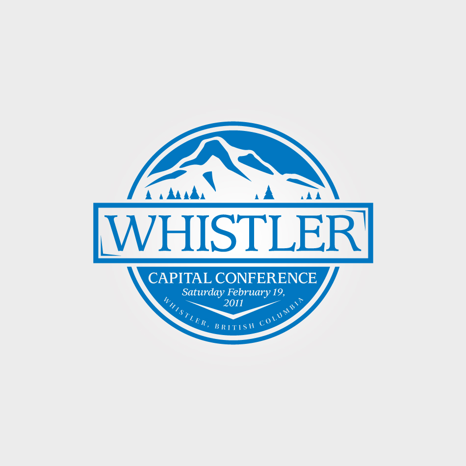 Logo Design by Spud9 - Entry No. 13 in the Logo Design Contest Whistler Capital Conference.