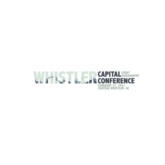 Logo Design by Bergur Finnbogason - Entry No. 21 in the Logo Design Contest Whistler Capital Conference.