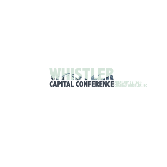 Logo Design by Bergur Finnbogason - Entry No. 23 in the Logo Design Contest Whistler Capital Conference.