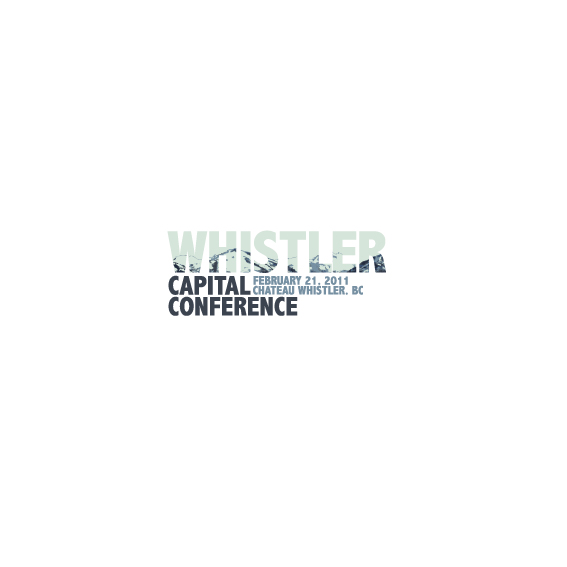 Logo Design by Bergur Finnbogason - Entry No. 24 in the Logo Design Contest Whistler Capital Conference.