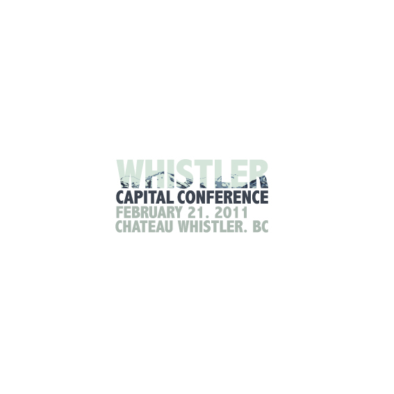Logo Design by Bergur Finnbogason - Entry No. 25 in the Logo Design Contest Whistler Capital Conference.