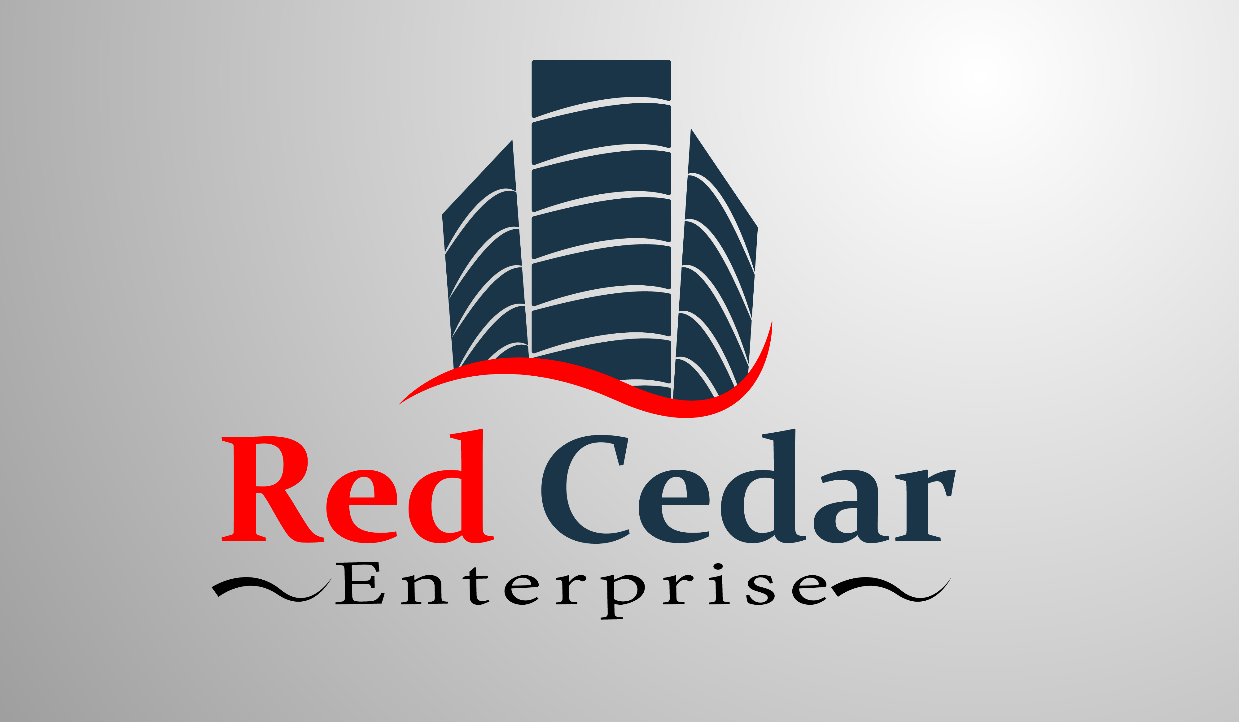 Logo Design by Moeed Khan - Entry No. 7 in the Logo Design Contest Unique Logo Design Wanted for Red Cedar Enterprise.