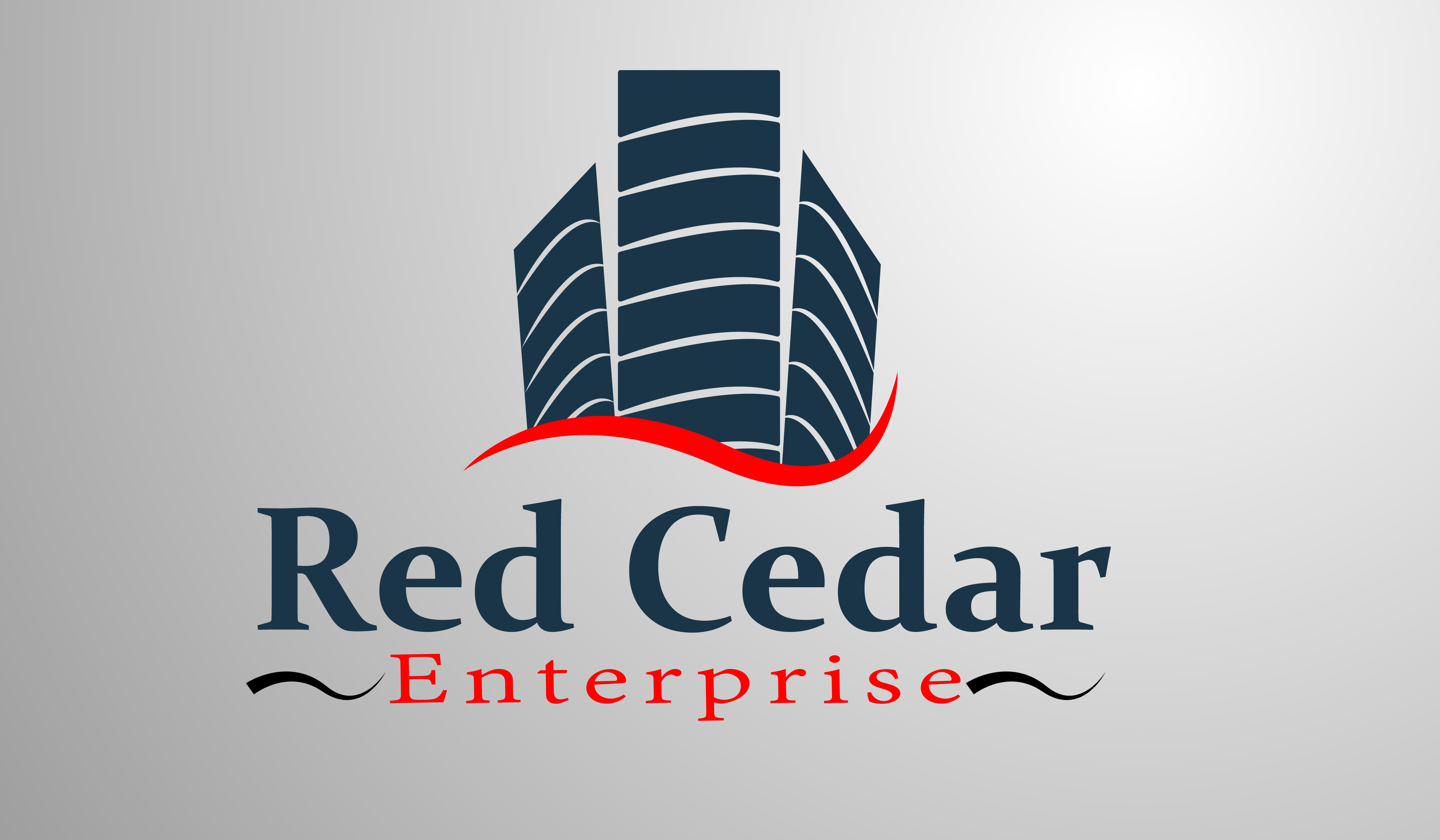 Logo Design by Moeed Khan - Entry No. 8 in the Logo Design Contest Unique Logo Design Wanted for Red Cedar Enterprise.