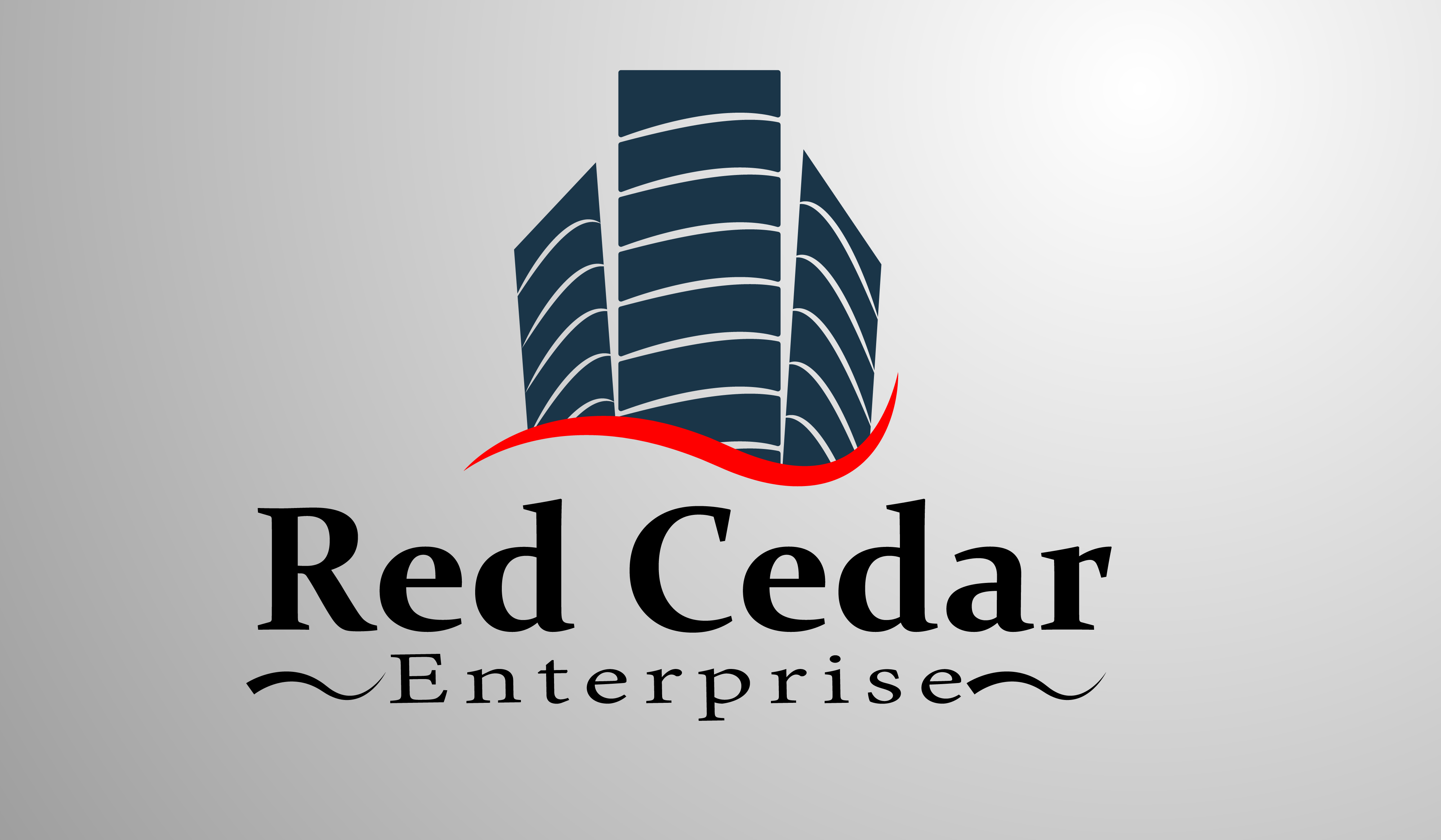 Logo Design by Moeed Khan - Entry No. 9 in the Logo Design Contest Unique Logo Design Wanted for Red Cedar Enterprise.