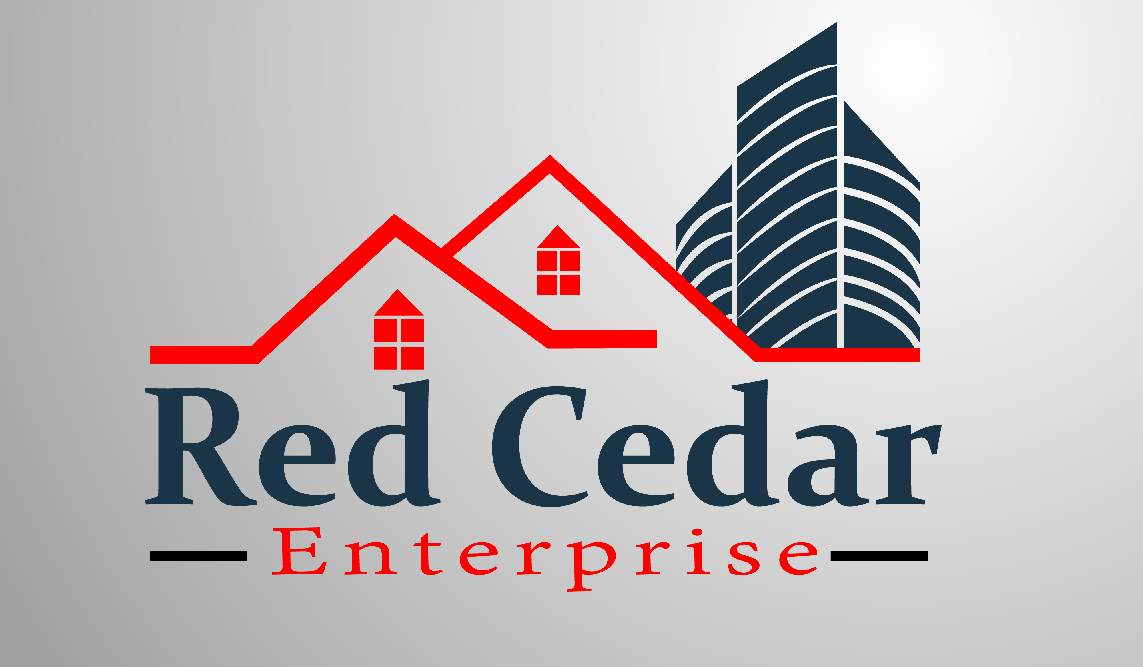 Logo Design by Moeed Khan - Entry No. 10 in the Logo Design Contest Unique Logo Design Wanted for Red Cedar Enterprise.