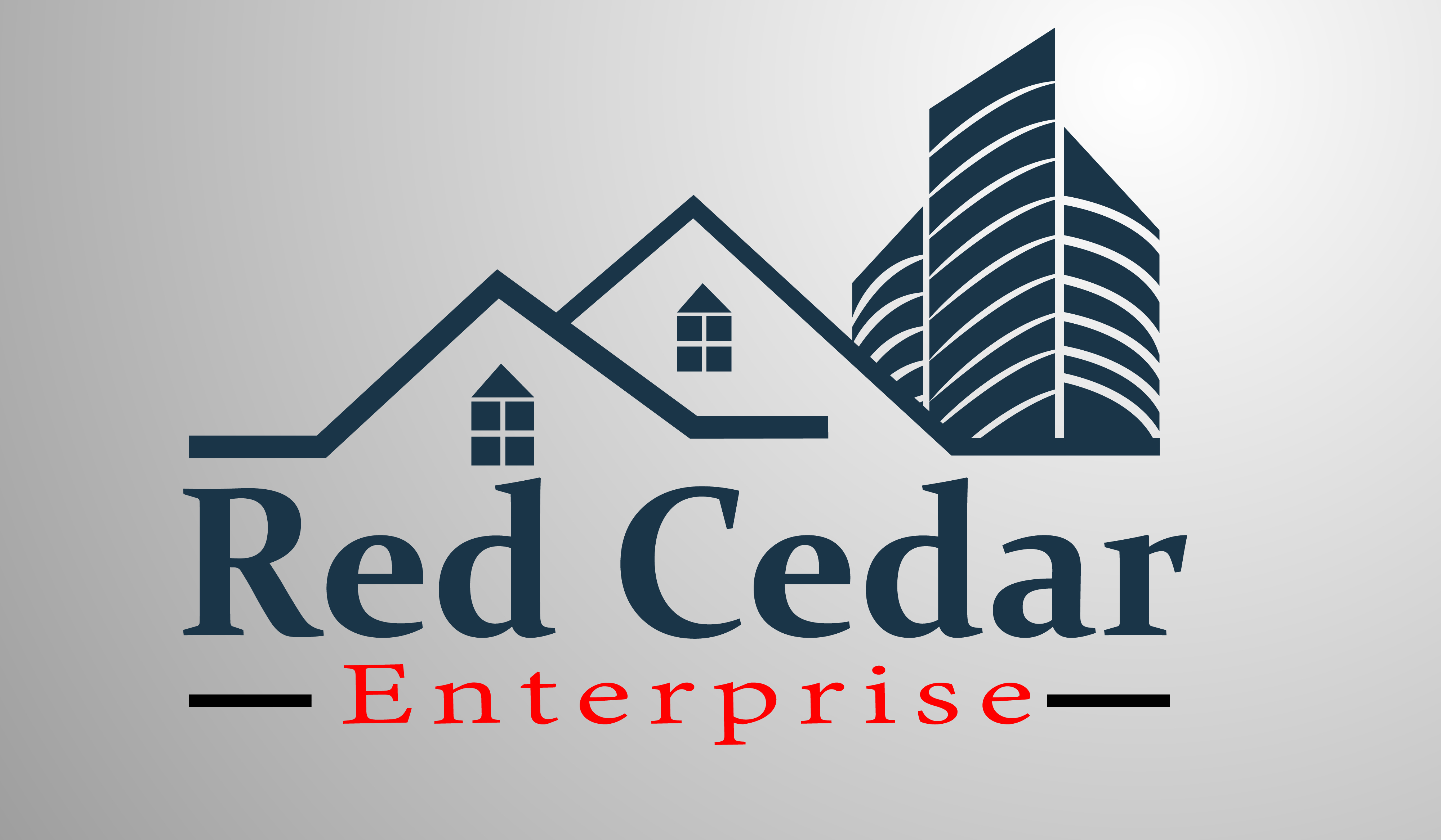 Logo Design by Moeed Khan - Entry No. 11 in the Logo Design Contest Unique Logo Design Wanted for Red Cedar Enterprise.