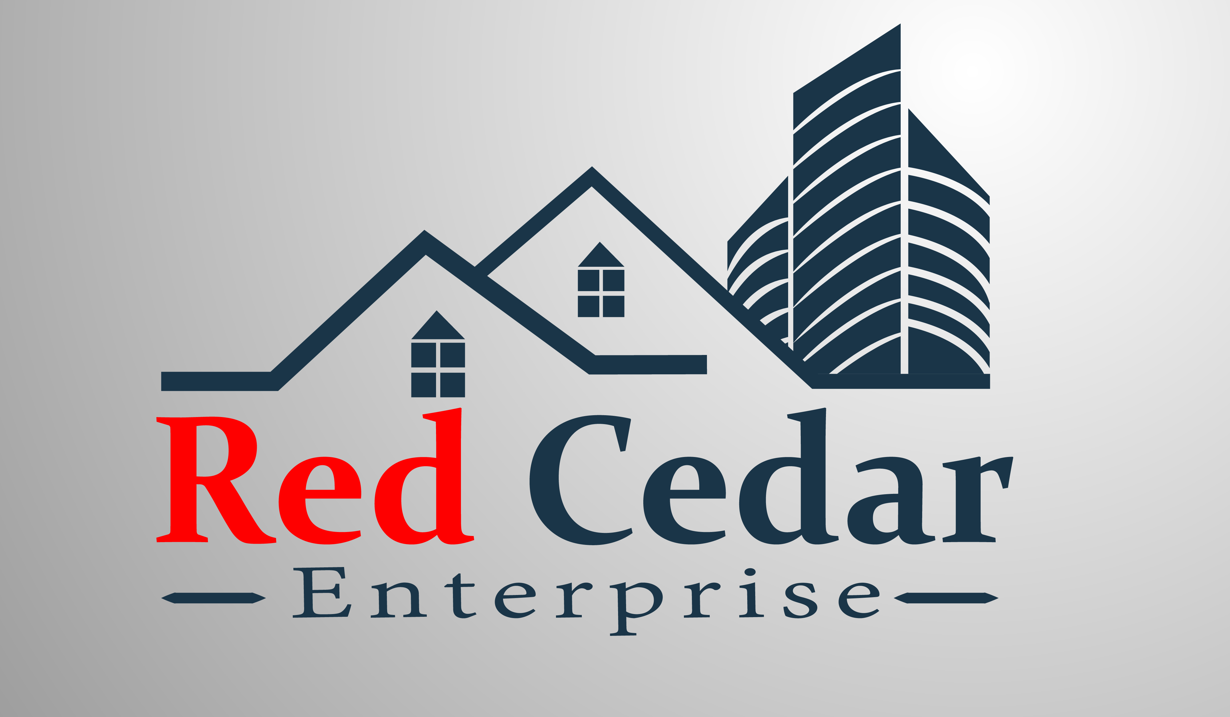 Logo Design by Moeed Khan - Entry No. 12 in the Logo Design Contest Unique Logo Design Wanted for Red Cedar Enterprise.