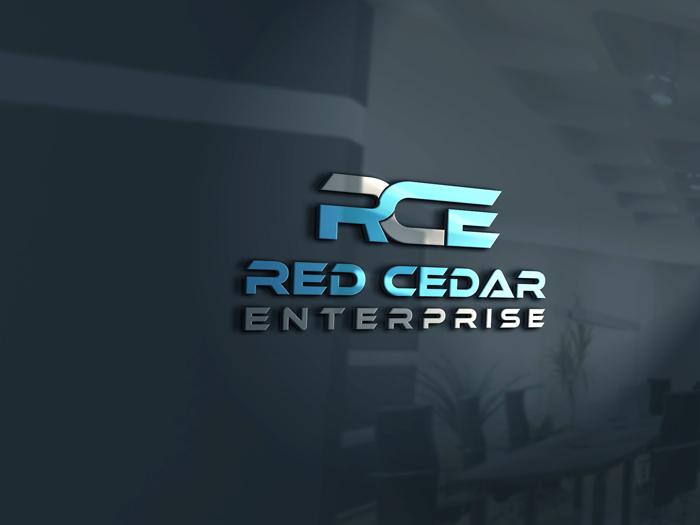 Logo Design by Private User - Entry No. 20 in the Logo Design Contest Unique Logo Design Wanted for Red Cedar Enterprise.