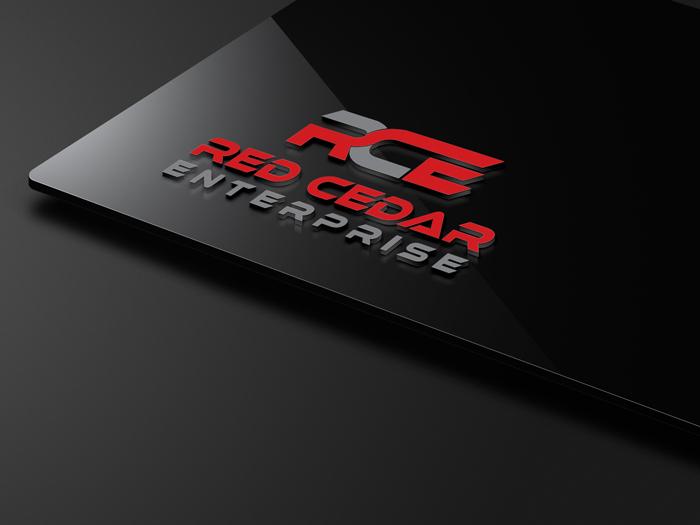 Logo Design by Private User - Entry No. 23 in the Logo Design Contest Unique Logo Design Wanted for Red Cedar Enterprise.