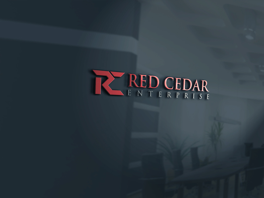 Logo Design by Private User - Entry No. 27 in the Logo Design Contest Unique Logo Design Wanted for Red Cedar Enterprise.